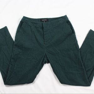 Who what wear! Green straight leg pants